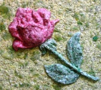 Элемент декора из жидких обоев