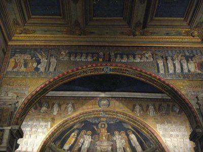 Базилика Санта Прасседе, Рим. 9 век