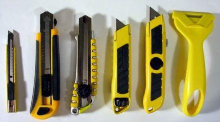 Ножи используемые для резки гипсокартона