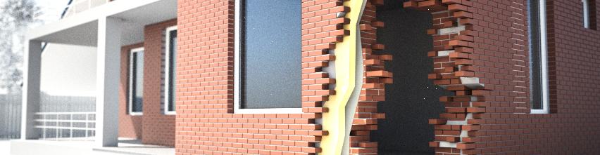 Шумоизоляция кирпичной стены