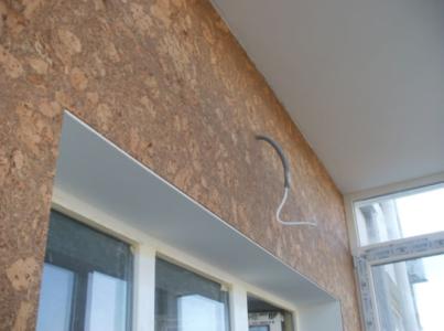 Звукоизоляция из пробки на стене