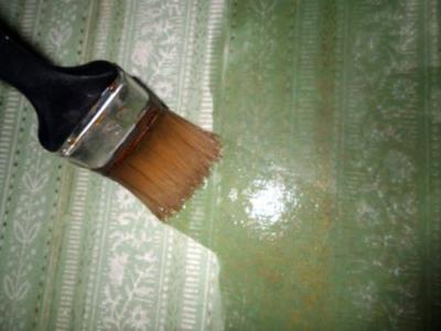 Обработка поверхности кистью