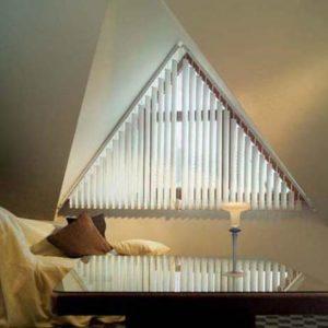 Треугольные формы стен