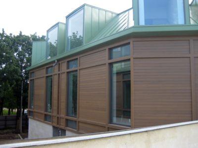 Навесной вентилируемый фасад