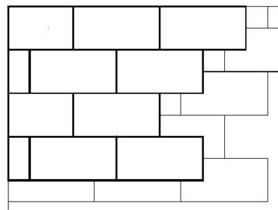 Расположение утеплителя в два ряда