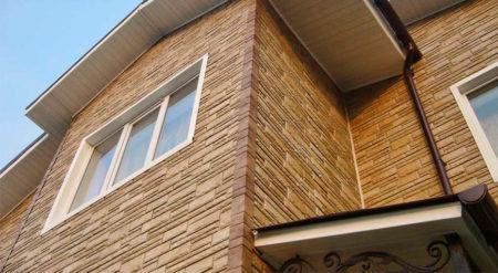 Облицовка фасада керамическим сайдингом
