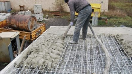 Монолитные перекрытия: устройство установки опалубки, армирования и бетонирования своими руками